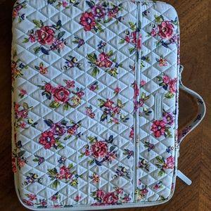 Vera Bradley Water Bouquet Computer Case